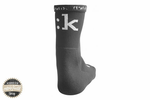 Fizik Winter Socks - Black - Retro Road  - 2