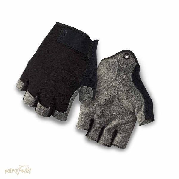 Giro Hoxton Road Cycling Mitts - Black Heather - Retro Road