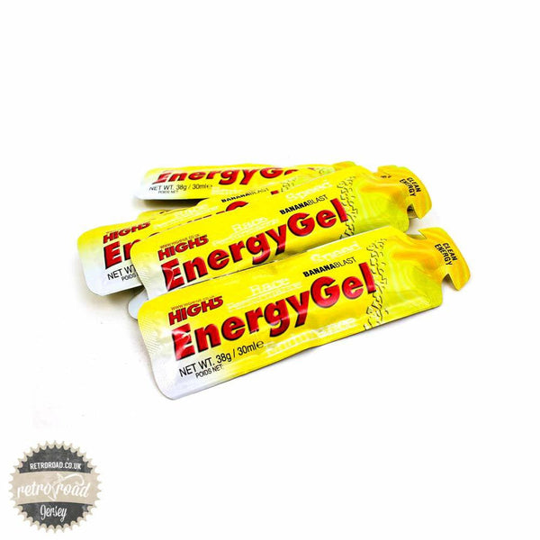 High 5 Energy Gel Sachets - Retro Road