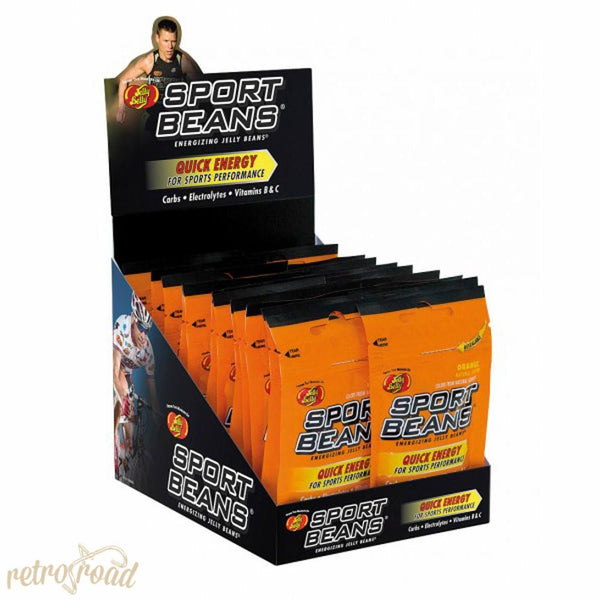 Jelly Belly Sports Beans - Orange Flavor - Retro Road