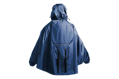 John Boultbee Cambridge Rain Cape - Blue - Retro Road