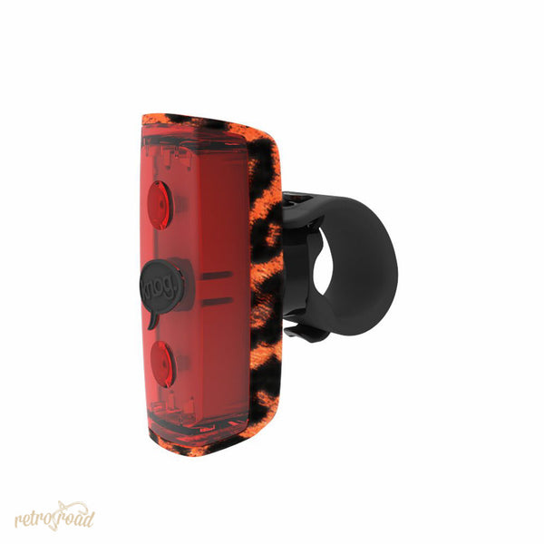 Knog POP r 2 LED Rear Light - Leopard - Retro Road