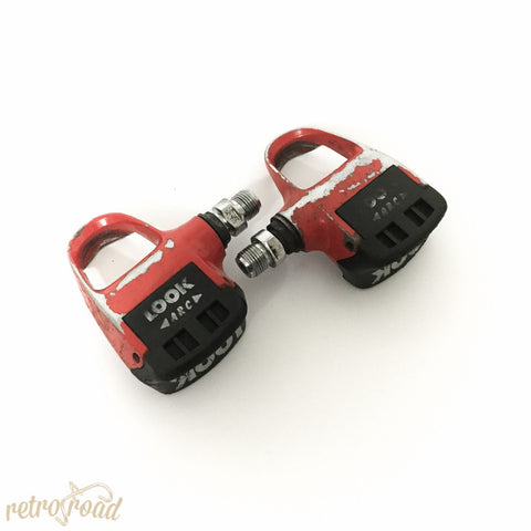 Look Carbo Pro Pedals - Retro Road  - 4