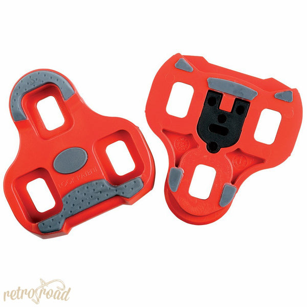Look Keo Cleat with gripper 9 ⁰ float Red - Retro Road