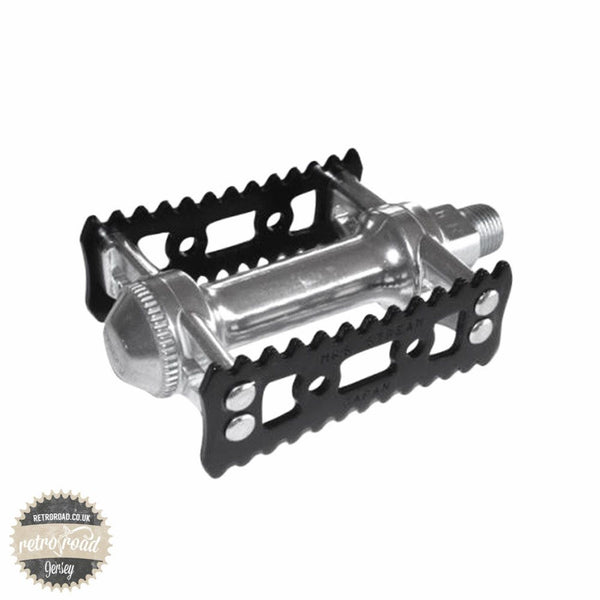 MKS Sylvan Stream Pedals - Black - Retro Road