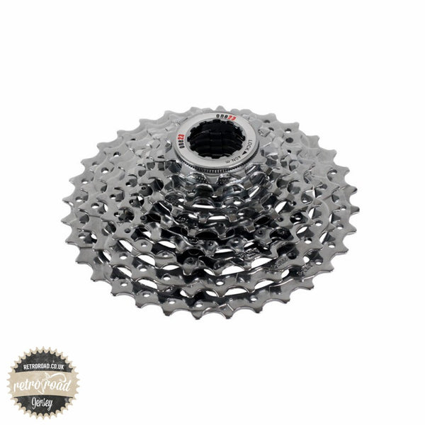 One23 9 Speed Cassette Steel CP - Retro Road  - 1