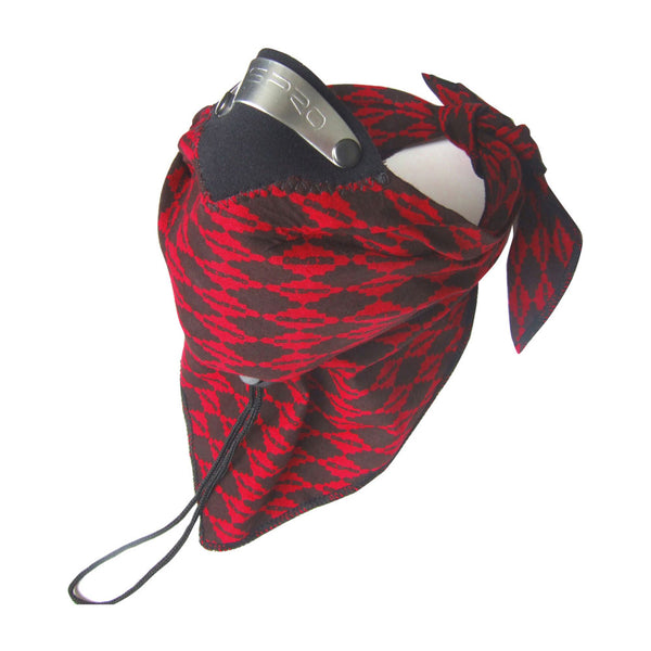 Respro Bandit Scarf Red Diamond