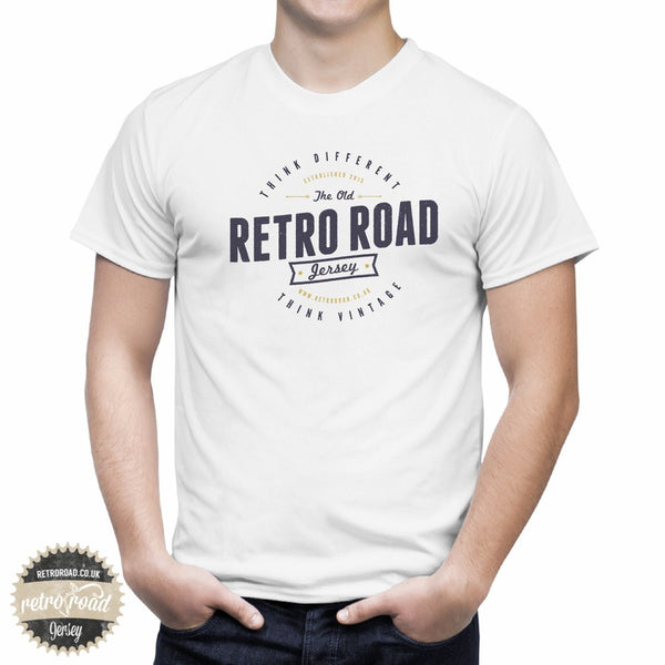 "Retro Road ""Think Different. Think Vintage"" T-Shirt - Retro Road"
