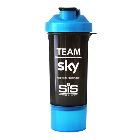 SIS Team Sky Smart Protein Shaker - 600ml - Retro Road
