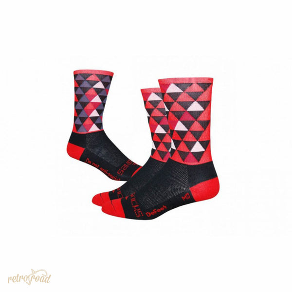 Sako7 Pro Solitude Red Edition Socks - Retro Road