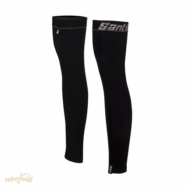 Santini BeHot H20 Fleece Leg Warmers - Retro Road