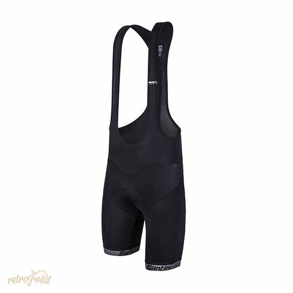 Santini Core 2 Bib Shorts Max 2 Pad - Retro Road