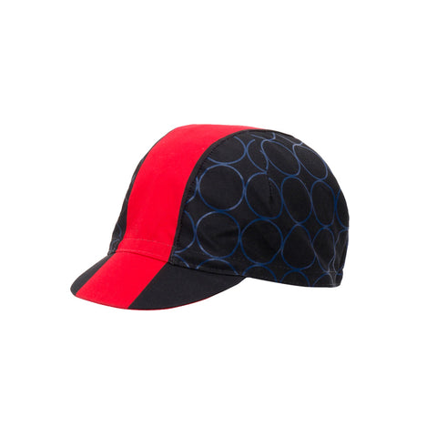 Santini Cotton Cycling Cap Redux Design - Orange - Retro Road