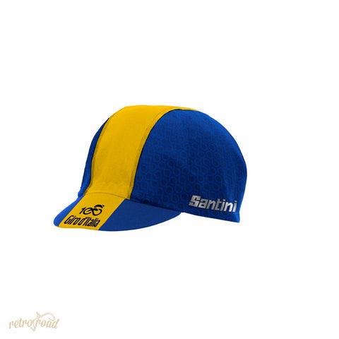 Santini Giro D'italia 2017 Stage 11 Bartali Cotton Race Cap - Retro Road
