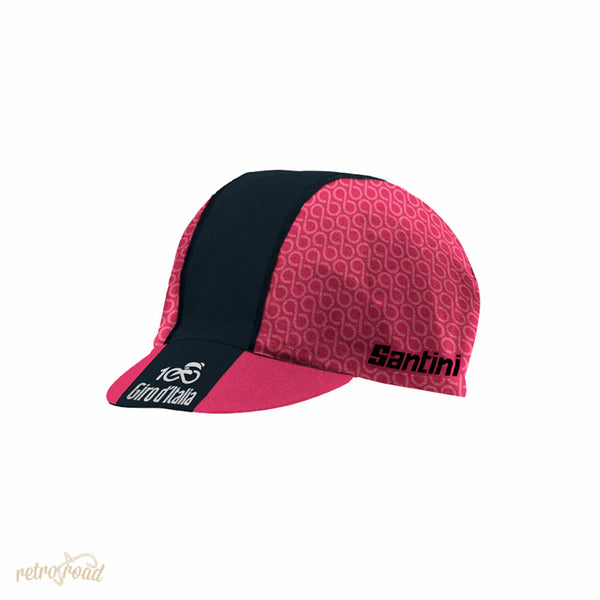 Santini Giro D'Italia 2017 Stage 21 Monza-Milan Cotton Race Cap - Retro Road