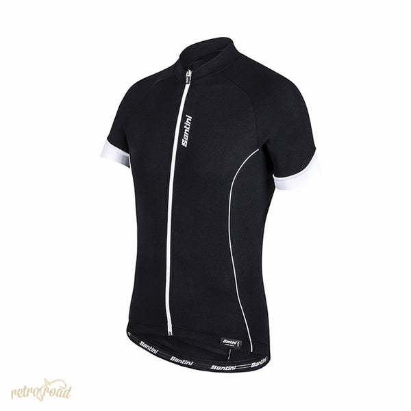 Santini Ora Short Sleeve Jersey - Retro Road