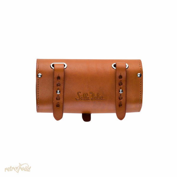 Sella Italia Gloriosa Full Leather Saddle Bag - Honey