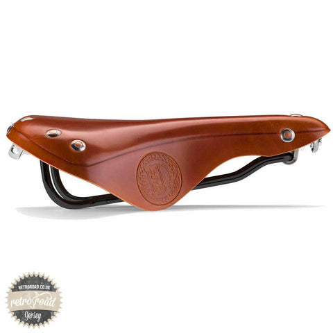 Selle Italia Epoca Full Leather Saddle - Retro Road