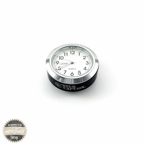 Stem Cap Bike Clock - Retro Road