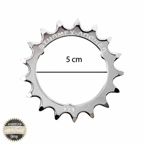 17T Sturmey Archer RX Sprocket - HSL993 - Retro Road