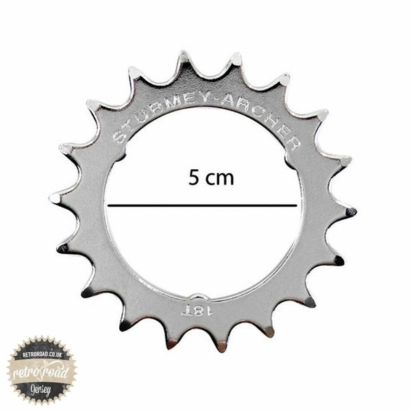 18T Sturmey Archer RX Sprocket - HSL991 - Retro Road