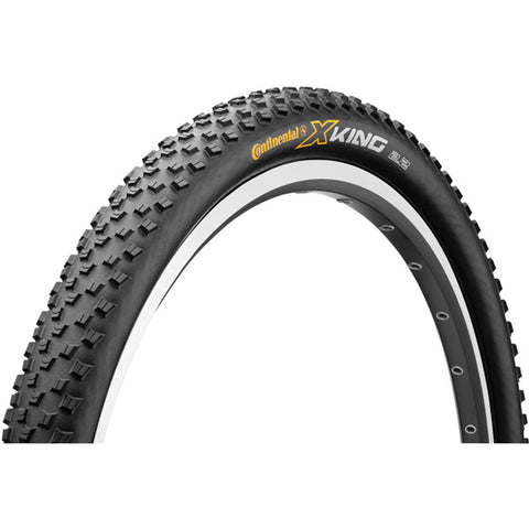 Continental Cross King PureGrip Black Folding Tyre - Retro Road