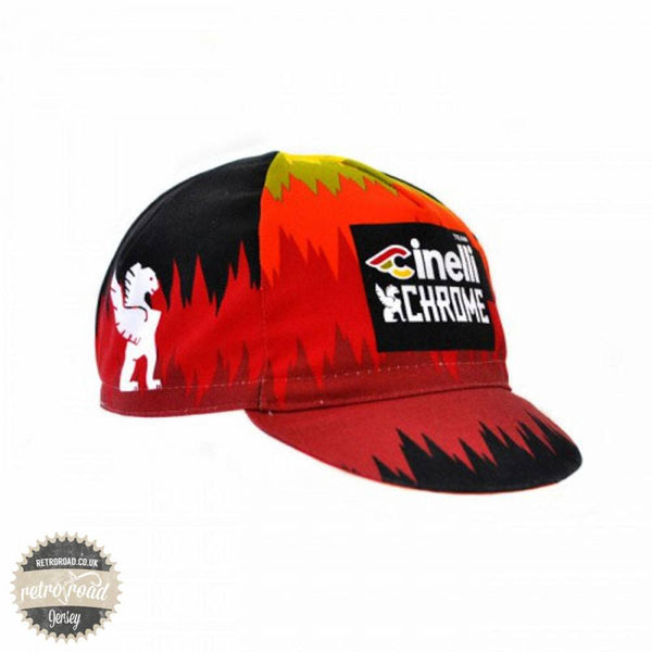 Team Cinelli Chrome Cap - Retro Road