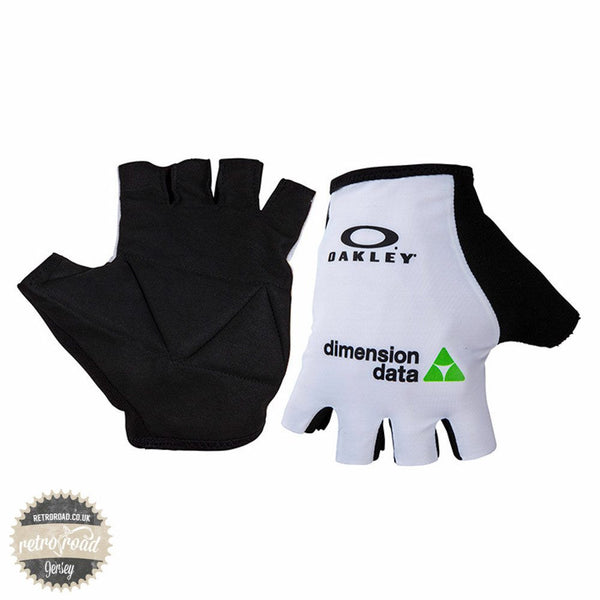 Team Dimension Data Cycling Mitts - Retro Road