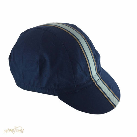 The Light Blue Cotton Cycling Cap - Retro Road