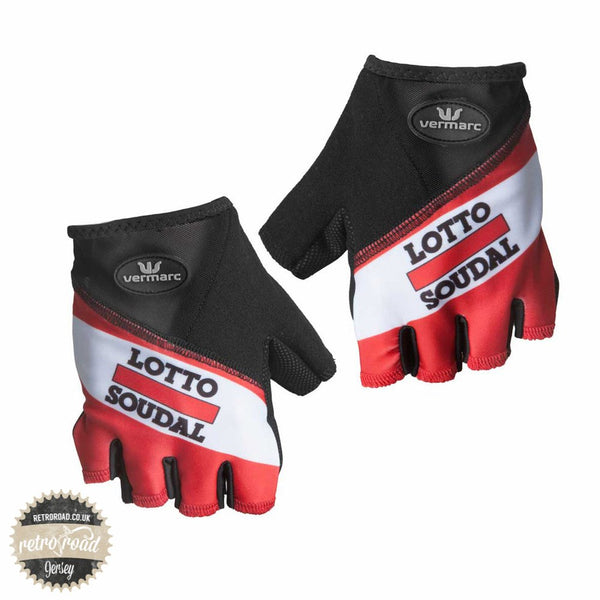 Lotto Soudal Mitts - Retro Road  - 1
