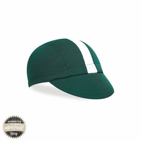 Walz Classic Wicking Cap - Green/White - Retro Road