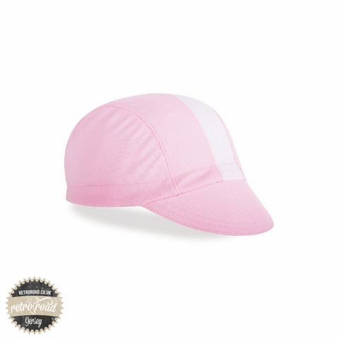 Walz Classic Wicking Cap - Pink/White - Retro Road