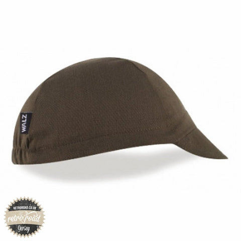 Walz Classic Cotton Cap - Olive - Retro Road