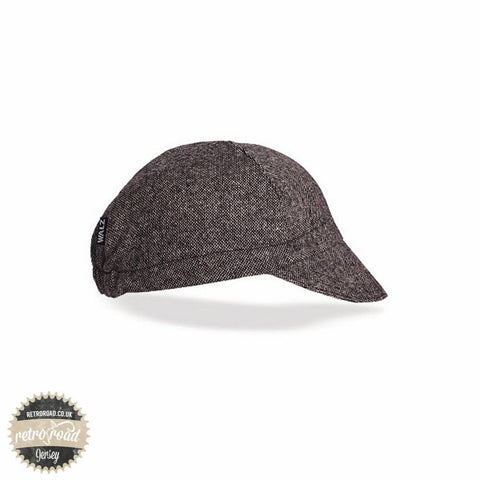 Walz Wool Cap - Black Tweed - Retro Road