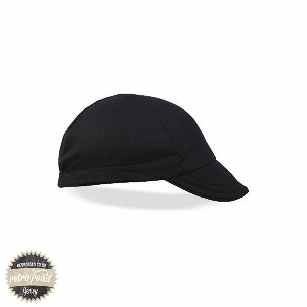 Walz Wool Cap - Black - Retro Road