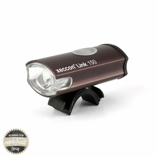 Xeccon Link 150 1 LED Front Light - Retro Road  - 1