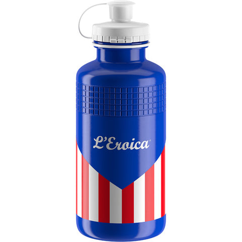 Elite L'Eroica Squeeze 550ml Bottle - USA Classic - Retro Road
