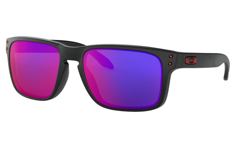 Oakley Holbrook™ Adult Sunglasses (Matte Black) +Red Iridium Lens
