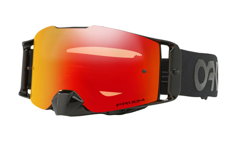 Oakley Front Line™ MX Goggle (Factory Pilot Blackout) Prizm Torch Lens - Retro Road