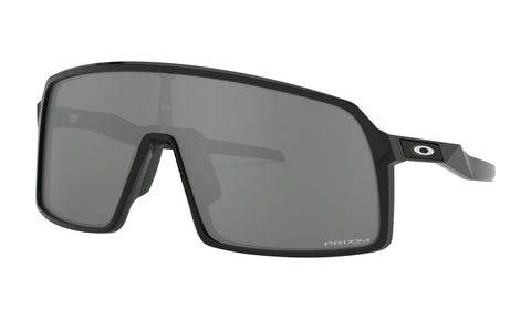 Oakley Sutro Sunglasses Adult (Polished Black) Prizm Black Lens - Retro Road