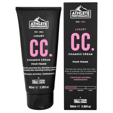 Muc-Off Athlete Performance Ladies Chamois Cream 100ml - Retro Road
