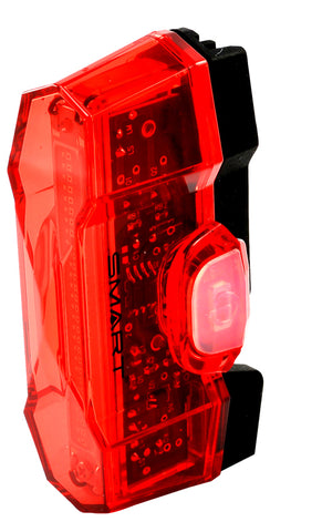 Smart Vulcan - USB Rear Rechargeable Light (30 Lumens) - Retro Road