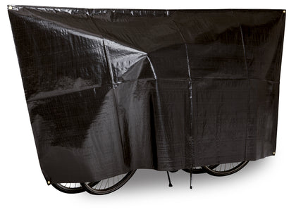 "VK ""Duo"" Waterproof 2-Bike Bicycle Cover Incl. 5m Cord"