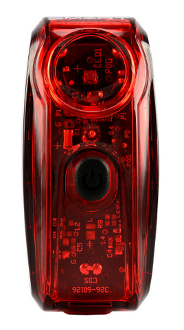 Smart Trail 80 Plus USB Rechargeable Rear Light with Braking Function - Retro Road