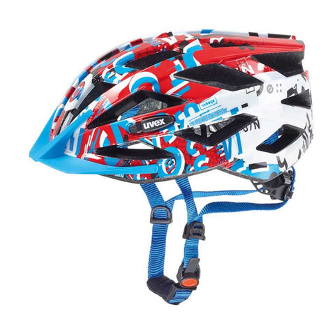 Uvex Air Wing Kids Bicycle Helmet - Retro Road