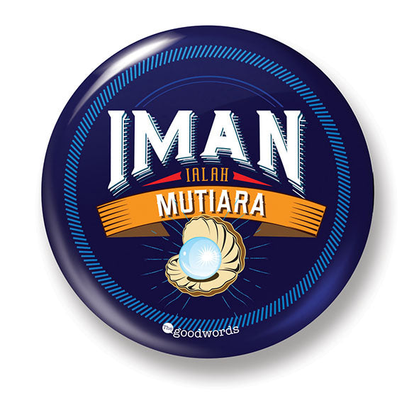 Button Badge - Iman Mutiara - (MC-BB77-09)