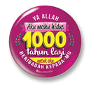 Button Badge - 1000 Tahun - (MC-BB77-04)