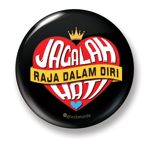 Button Badge - Jagalah Hati - (MC-BB77-05)
