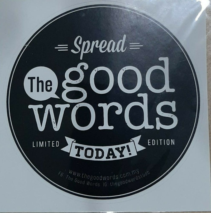 Round Stickers - The Good Words - (MC-BB80-01)