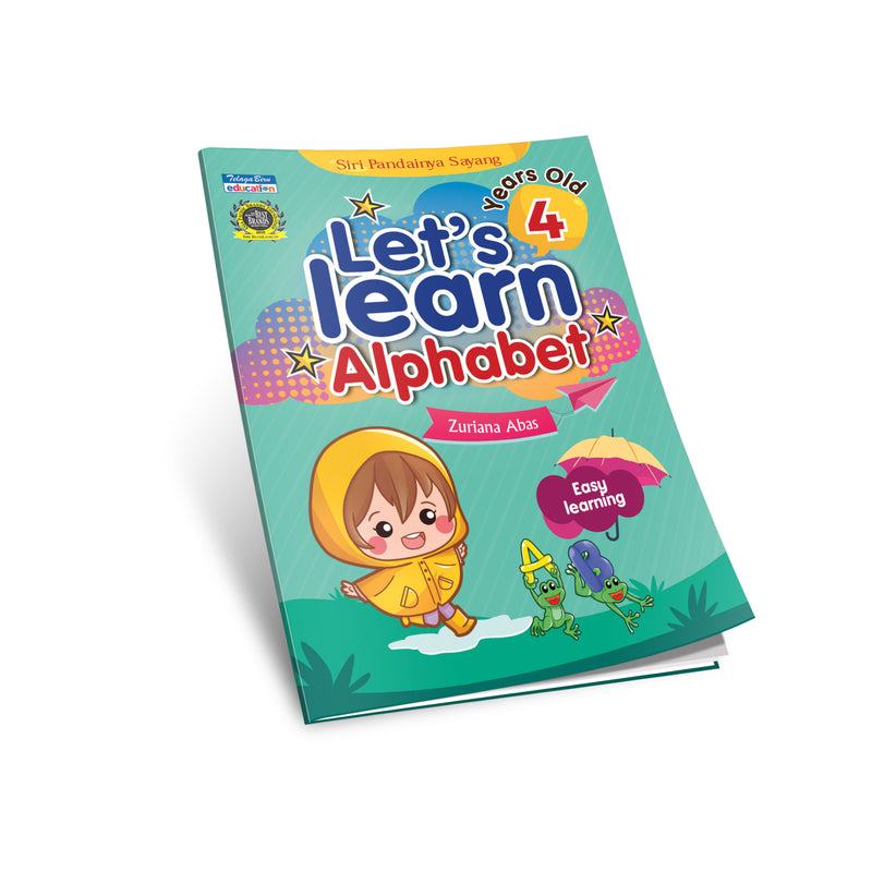 Let's Learn Alphabet 4 Years Old - (TBBS1087)
